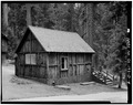EXTERIOR, SOUTH VIEW - Giant Forest Lodge Historic District, Cabin A, Three Rivers, Tulare County, CA HABS CAL,54-THRIV.V,1-D-4.tif