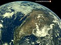 Earth's picture shot from from Chandrayaan 2 on-board LI4 Camera - 2.jpg