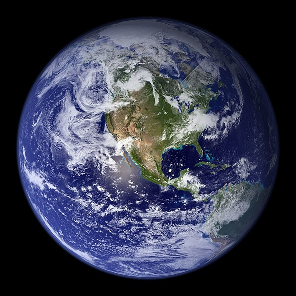 File:Earth Western Hemisphere.jpg