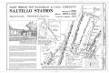 East Broad Top Railroad, Saltillo Station, Along the East Broad Top Railroad (at milepost 18.8) and PA Route 655 (South Main Street), Saltillo, Huntingdon County, PA HAER PA-634 (sheet 1 of 6).png