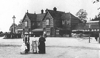 East Grinstead railway station - 1883 station