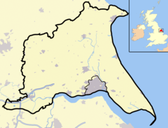 Goole is located in East Riding of Yorkshire