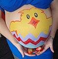 Easter pregnancy bodypaint.jpg