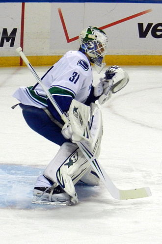 Eddie Läck - Eddie Läck playing for the Vancouver Canucks