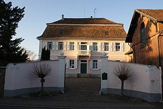 Baron d'Holbach - Franz Adam Holbach's, or Adam François d'Holbach's house in Edesheim, Schloss Kupperwolf