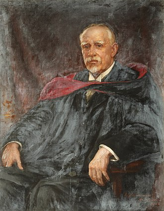 Edward Armstrong (historian) - Portrait by Charles Goldsborough Anderson.
