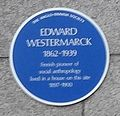 Edward Westermarck blue plaque cropped.JPG