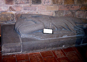 William de Ferrers, 5th Earl of Derby - William Ferrers' effigy in Merevale Abbey