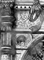 Eglise Saint-Martin - Vitrail, baie 3 (détail), Motif architectural - Montmorency - Médiathèque de l'architecture et du patrimoine - APMH00005386.jpg