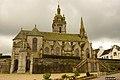 Eglise et abords à Saint-Thégonnec facade Nord.JPG