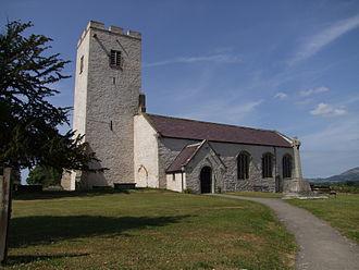 Ystrad Marchell - St Marcella's Church, Eglwys Wen, Denbigh