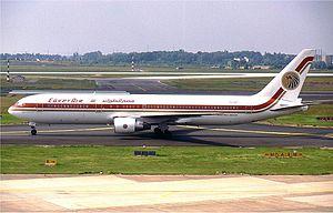 EgyptAir Flight 990 - Image: Egyptair Boeing 767 300 in 1992