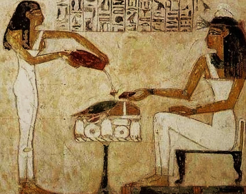 Egyptian-woman-painting Beer