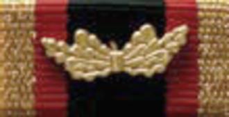 Bundeswehr Cross of Honour for Valour - Image: Ehrenkreuz der Bundeswehr für Tapferkeit Ribbon