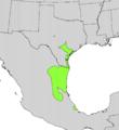 Ehretia anacua range map.png