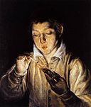 El Greco - A Boy Blowing on an Ember to Light a Candle (Soplón) - WGA10422.jpg