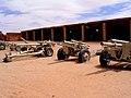 El Museo del Ejército de Liberación Popular, cañones incautados.jpg