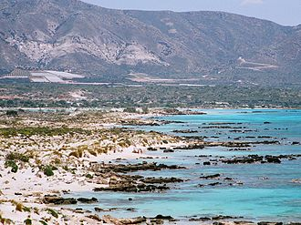 Elafonisi - Southeastern coast of Elafonisi