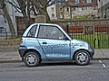 Electric Car parked just off the Marylebone Road, London - geograph.org.uk - 706658.jpg