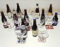 Eleven trappist beer and glasses.jpg