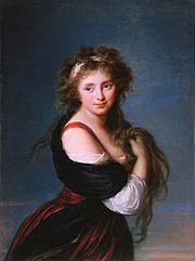 Elisabeth Vigée-Lebrun - Portrait of Hyacinthe Gabrielle Roland