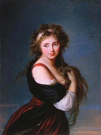 Richard Wellesley, 1st Marquess Wellesley - Hyacinthe-Gabrielle Roland, as painted by Élisabeth Vigée-Lebrun in 1791.