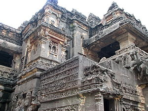 Secularism in India - Image: Ellora, The Temple 2
