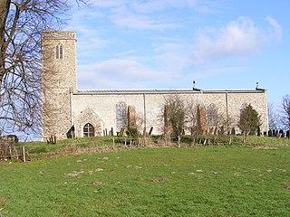 All Saints Church, Ellough Church in Suffolk, England