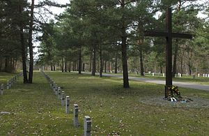 Elsterheide - War graves in Nardt