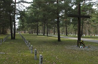 Elsterheide - War graves in Nardt