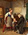 Emil Schuback, Die Einschulung, 1873.jpg