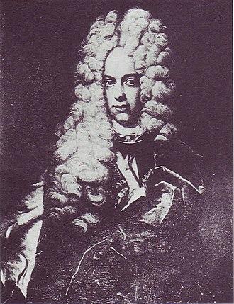 Thomas Emmanuel, Prince of Savoy-Carignan - Emanuel Thomas von Savoyen-Carignan by David Richter, 1710.