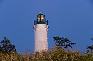 Empire, Michigan - Robert H. Manning Memorial Lighthouse