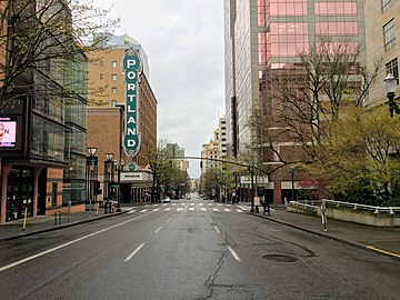 Empty Portland (Oregon) Downtown During COVID-19 Pandemic.jpg