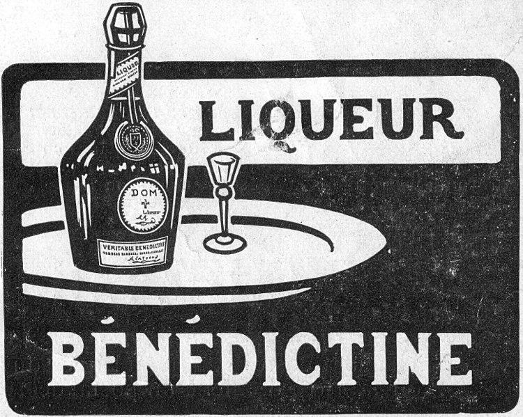 File:Encart publicitaire Liqueur Bénédictine 1908.jpg
