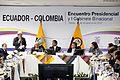 Encuentro Presidencial y I Reunión del Gabinete Binacional Ecuador-Colombia. (8265191952).jpg