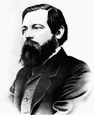 Karl Marx - Friedrich Engels, whom Marx met in 1844; the two became lifelong friends and collaborators