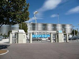 Entrée du Stade Vélodrome de Marseille