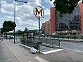 Entrée Station Métro Maisons Alfort Juilliottes Maisons Alfort 2.jpg