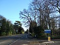 Entrance to Addenbrooke's Hospital off Long Road, Cambridge - geograph.org.uk - 1613823.jpg