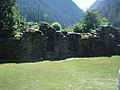 Entry to Front wall - Corner at Sharada Peeth, Sharda.jpg