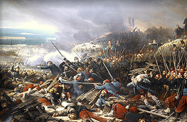 Episode of the Siege of Sebastopol During the Crimean War in 1855.PNG