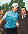 Ercole Baldini aux JO de Melbourne en 1956 (champion olympique sur route).jpg