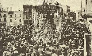 Manuel Fal Conde - Semana Santa, Seville, around 1915