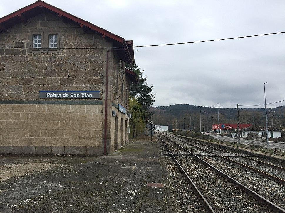 Estación da Pobra de San Xiao