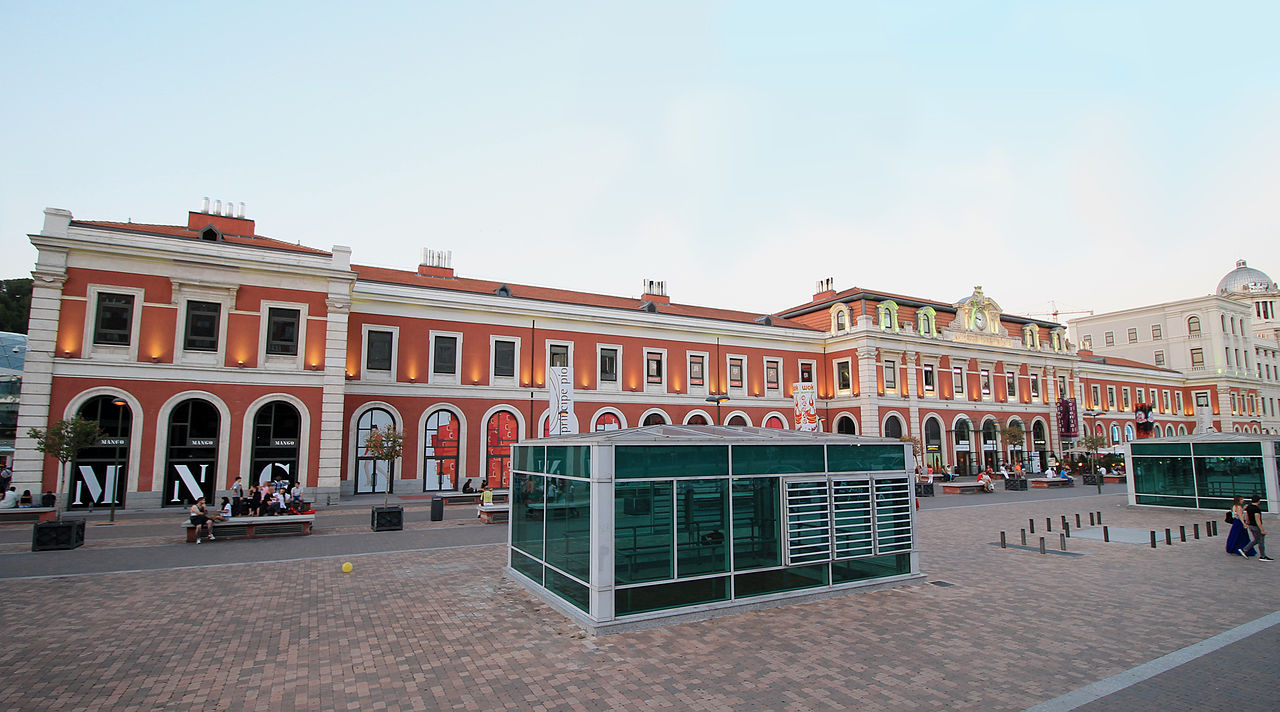 File Estación De Príncipe Pío Madrid 03 Jpg Wikimedia