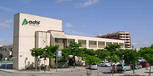 Jaén railway station - Image: Estación de Tren de Jaén