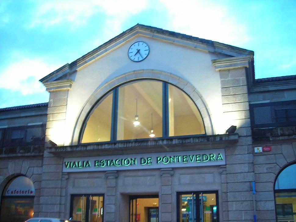 Estación tren Pontevedra