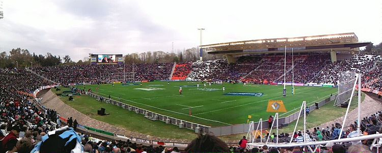 2012 match between Los Pumas and South Africa.