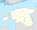 Estonia Hiiu location map.png
